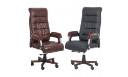Scaune elegante pentru birou tip recliner cu spatar inalt