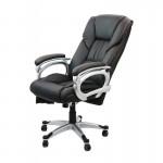 Scaun ergonomic cu brate reglabile si tetiera-negru-SYYT-9504
