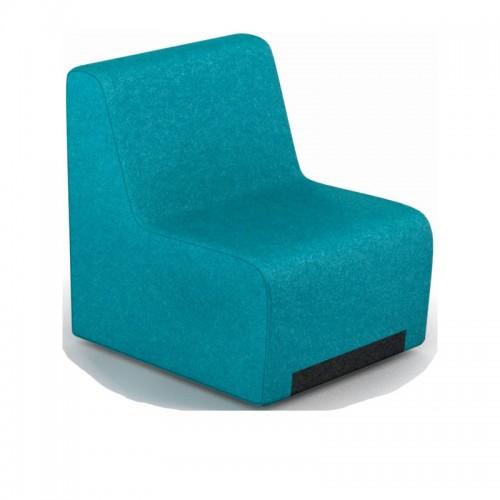 Fotoliu modular pentru spatii moderne de relaxare-RUBICO 100