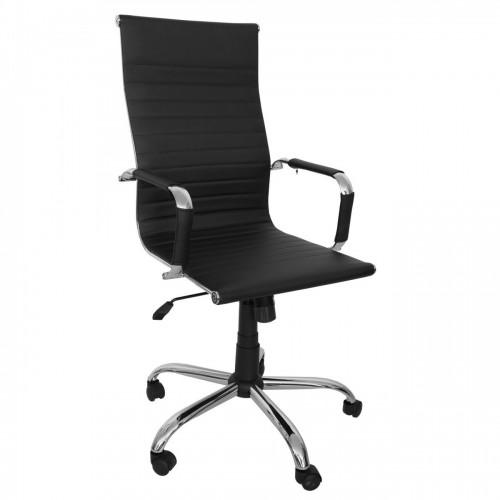 Scaun birou directorial rotativ-negru
