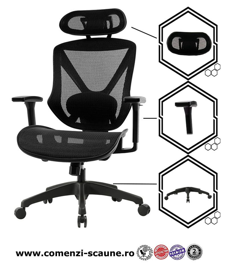scaune-de-birou-ergonomice-AERO-PRO-flexibile-si-rezistente-prezentare