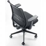 scaun ergonomic confortabil BOND BLACK