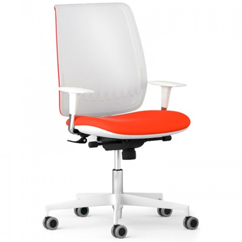 scaun ergonomic confortabil BOND WHITE
