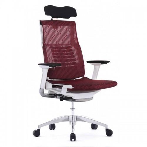 Scaun ergonomic elegant si performant POFIT BURGUNDY