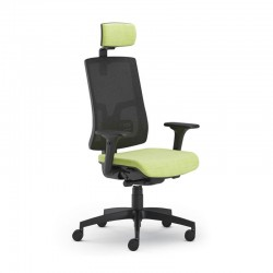 Scaun ergonomic confortabil si relaxant-PURE BLACK Mesh PDH
