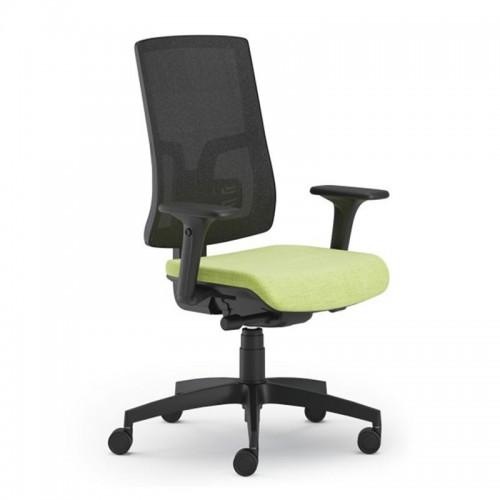 Scaun ergonomic confortabil si relaxant-PURE BLACK Mesh