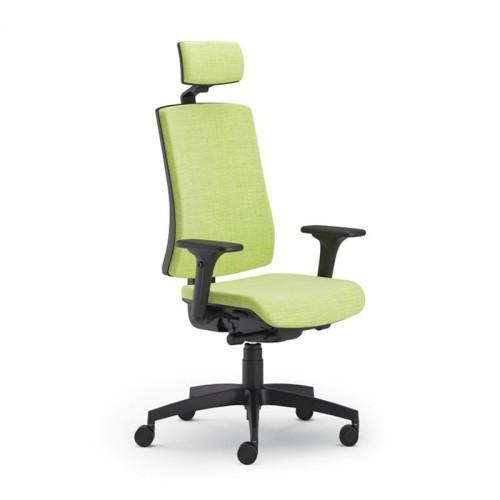Scaun ergonomic confortabil si relaxant-PURE BLACK T PDH
