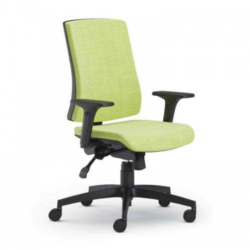 Scaun ergonomic confortabil si relaxant-PURE BLACK T