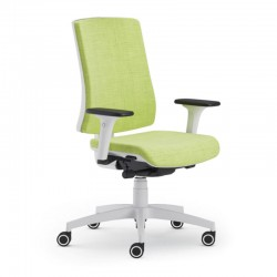 Scaun ergonomic confortabil si relaxant-PURE WHITE T