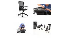 Instructiuni asamblare scaune de birou model ZEN
