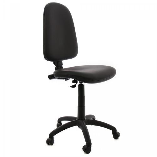 Scaun de birou CS-G-piele negru