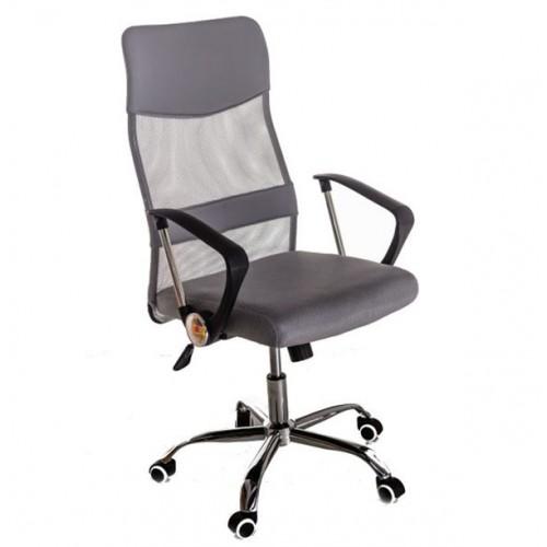 Scaun pentru birou tapitat cu material textil-mesh