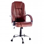 Scaun pentru birou rezistent si confortabil-baza metalica-300