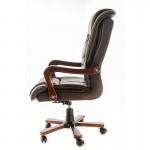 Scaun directorial ergonomic 8862 maro/negru