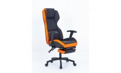 Scaun de birou si gaming cu suport pentru picioare