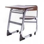 Set bancă scolară pentru un elev format din bancă și scaun