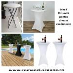 Masa rotunda cocktail sau stand-up-80 cm