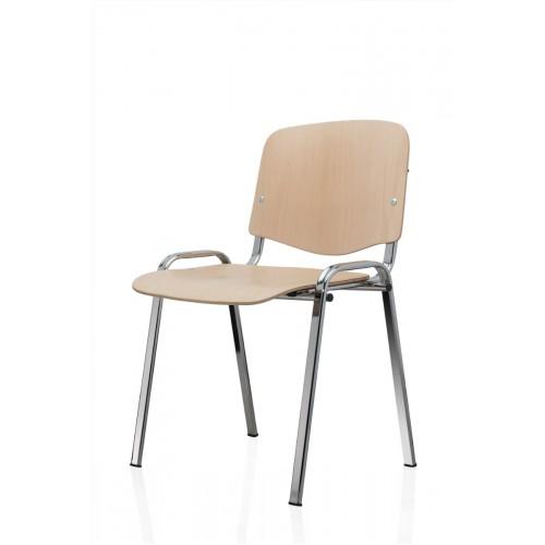 Scaun pentru elevi cromat