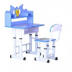 Set birou pentru copii-albastru