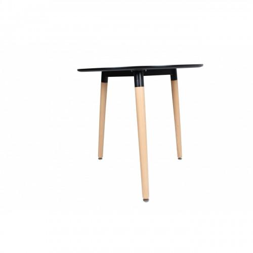 Masa rotunda negru