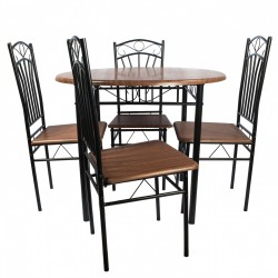 Set bucatarie masa O4 cu 4 scaune