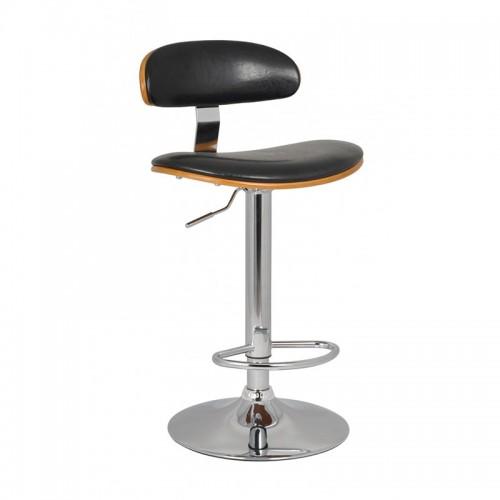 Scaun de bar design elegant si modern-Negru