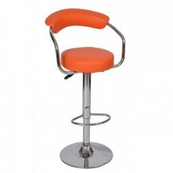 Scaun bar S-portocaliu