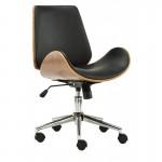 Scaun de birou elegant și solid-Negru