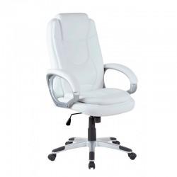 Scaun de birou clasic-alb