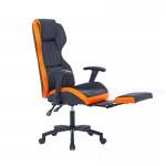 Scaun de birou rabatabil cu suport pentru picioare