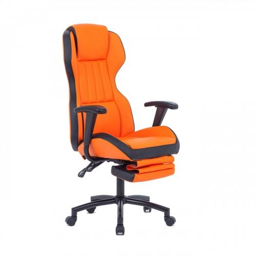 Scaun de gaming portocaliu