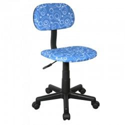 Scaun de birou pentru copii albastru