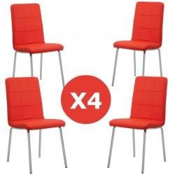 Set 4 scaune bucatarie colors