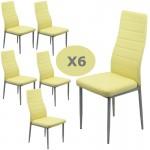 Set 6 scaune bucatarie-bej