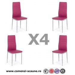 Set 4 scaune bucatarie-mov