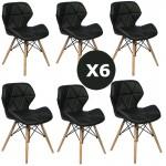 Set 6 scaune de bucatarie-AL-N