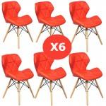 Set 6 scaune de bucatarie-AL-R