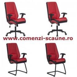 Set scaune de birou-rosu