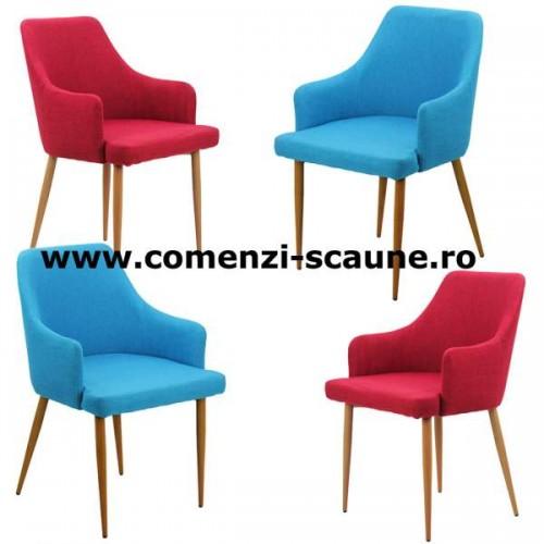Set 4 scaune bucatarie tapitate