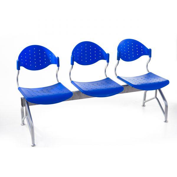 Banca-asteptare-9080-plastic-albastru