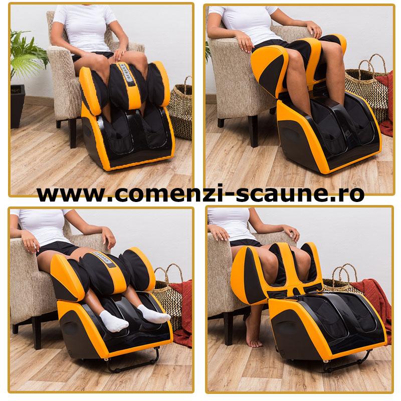Aparate-profesionale-de-masaj-al-picioarelor-comanda-galben