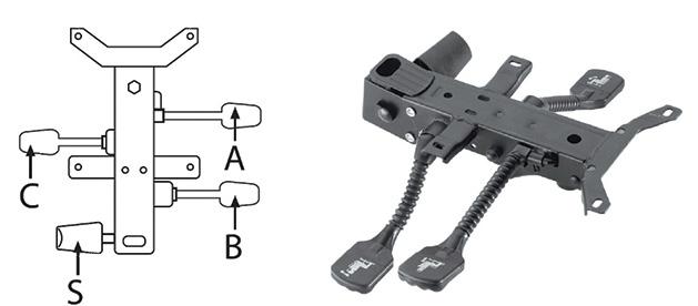 Mecanismul-asincron-cu-3-manete