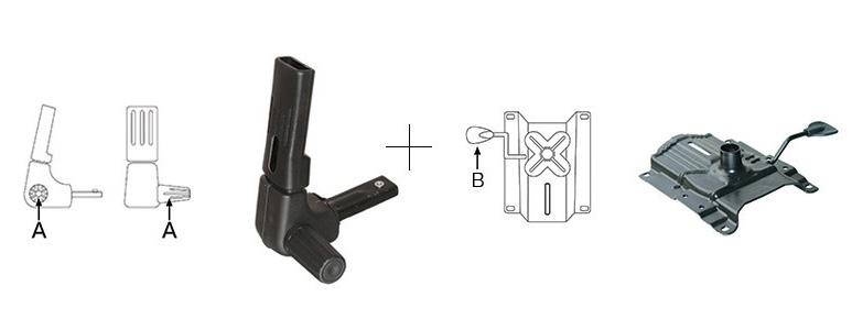 "Mecanism scaun ergonomic ""MEK"