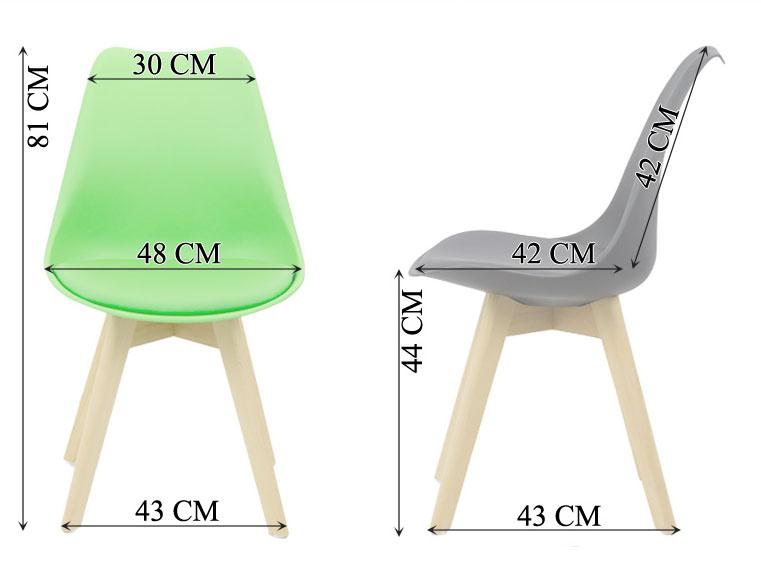 Instrucțiuni montaj scaune de bucătărie și living 242-dimensiuni