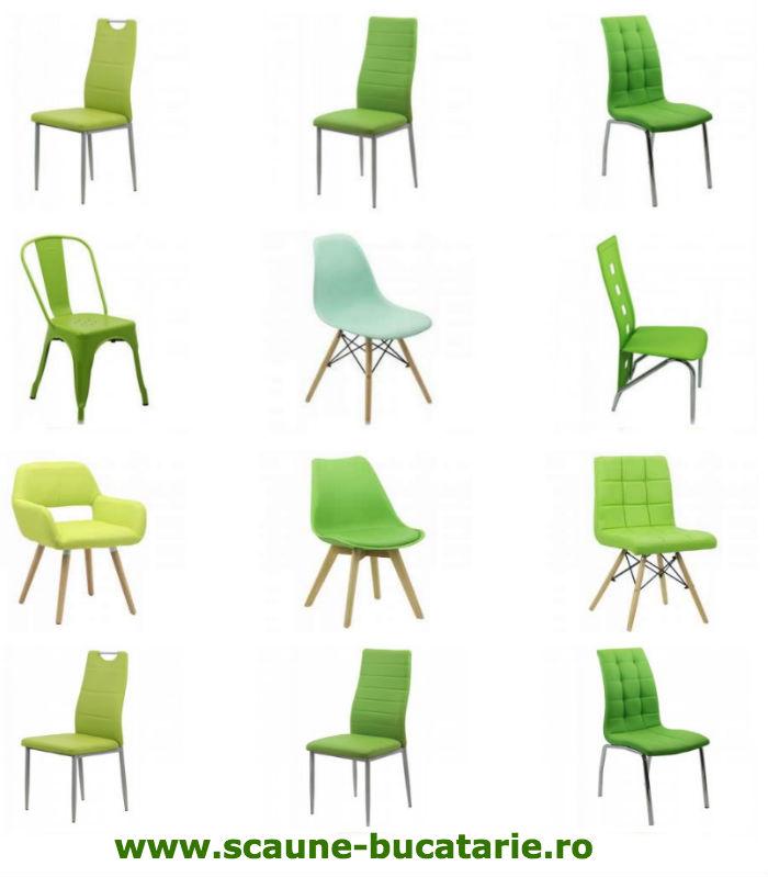 Scaune de bucatarie-shop online-scaun verde