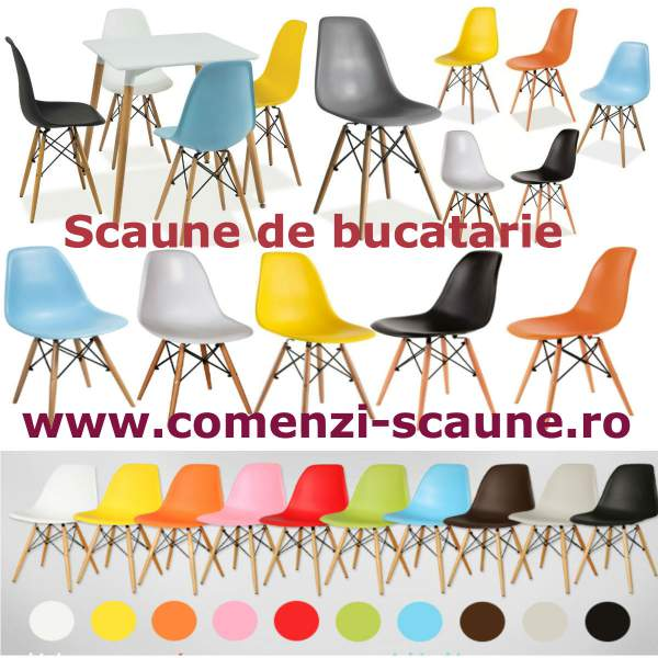 Scaune-de-bucatarie-colorate-living