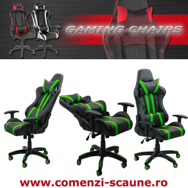Scaune-gaming-gren-verde