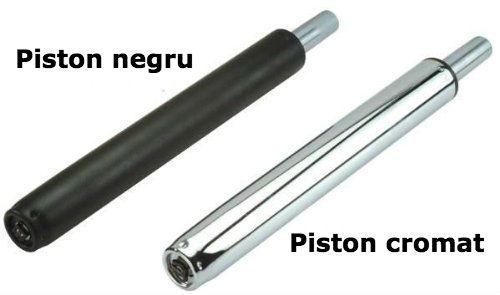Schimbare piston pe gaz pentru scaun de birou-pistoane cromate