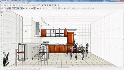 PRO100 - Software design pentru scaune și mobilier