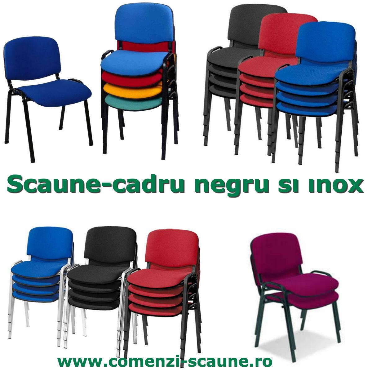 Scaune-color-pentru-sali-de-evenimente-inox-negre